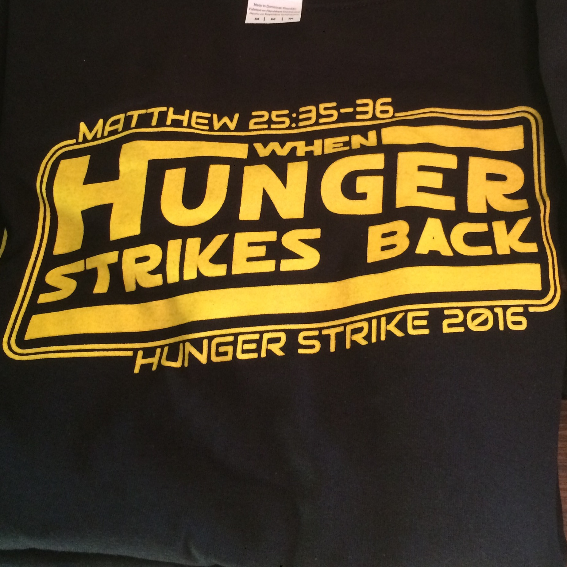 When Hunger Strikes Back!